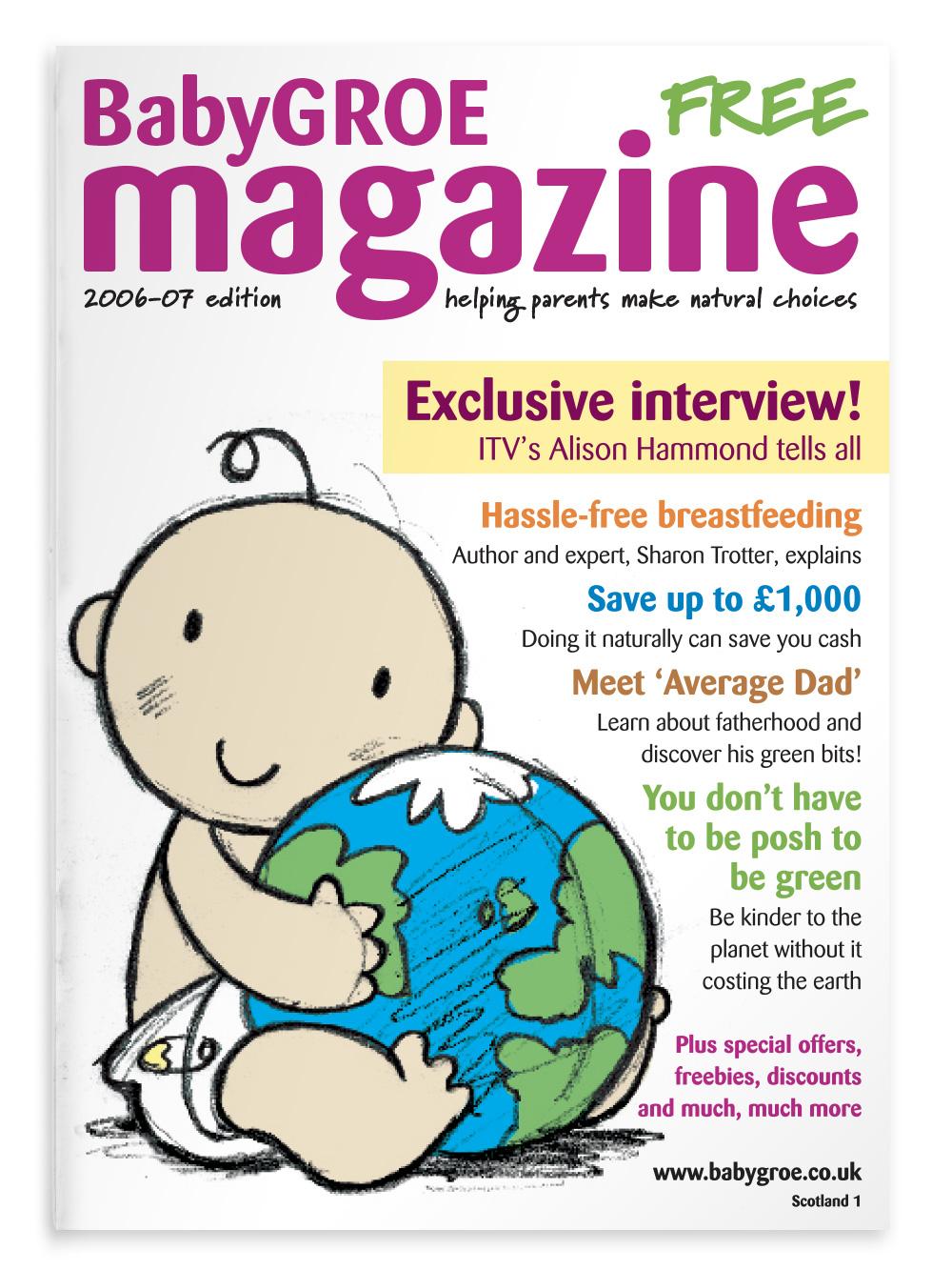 New BabyGROE magazine