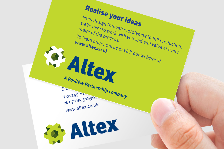 Altex business card