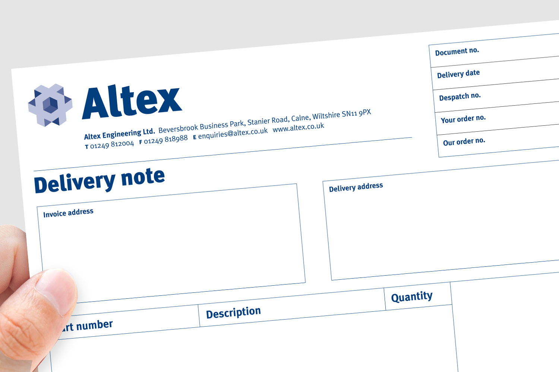 Altex stationery