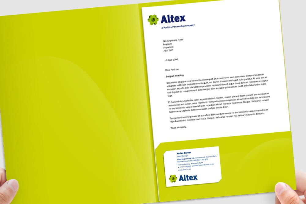 Altex corporate folder