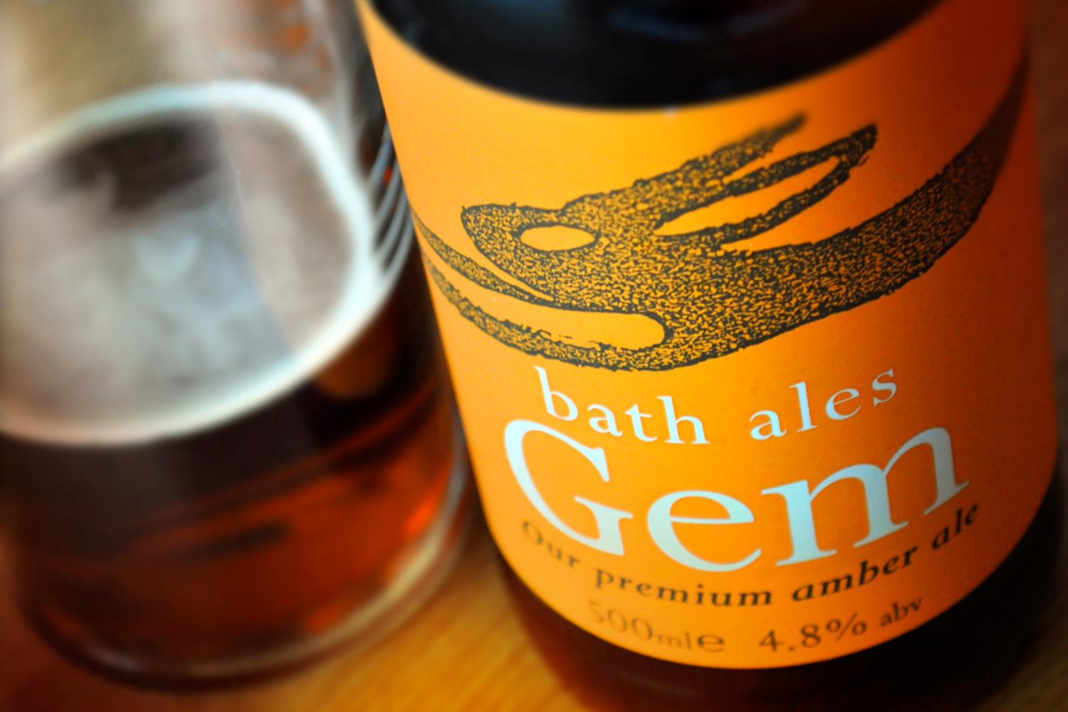 Bath Ales Gem bottle