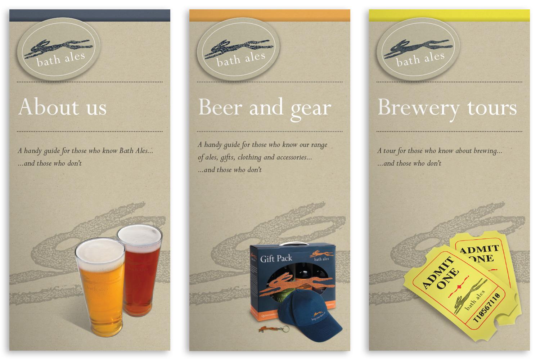 Bath Ales leaflets