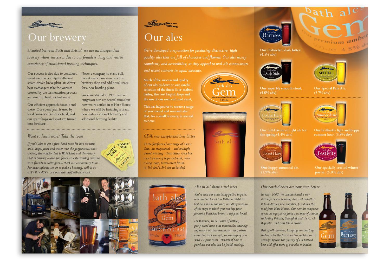 Bath Ales 'About us' leaflet
