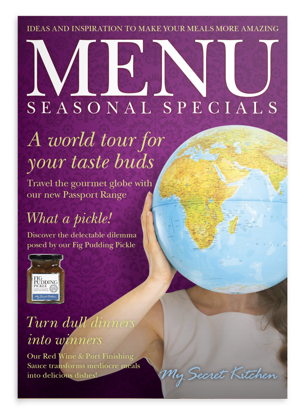 My Secret Kitchen 'Menu' magazine special edition