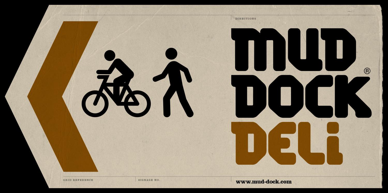 Mud Dock Deli signage