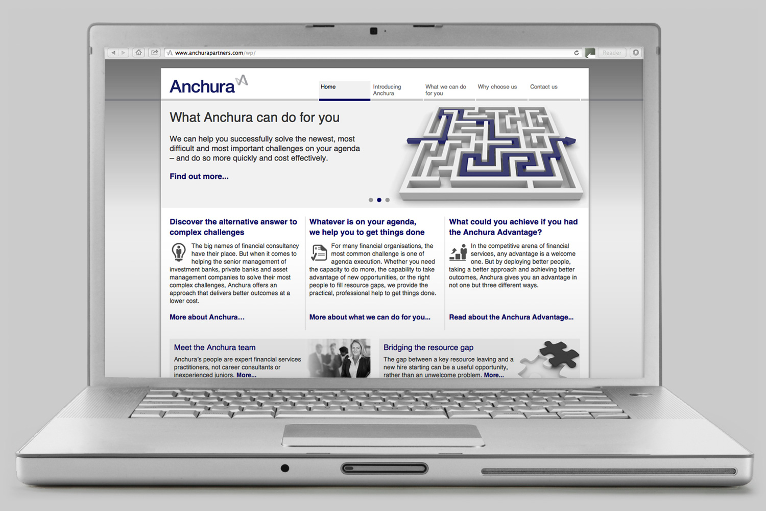 Anchura website