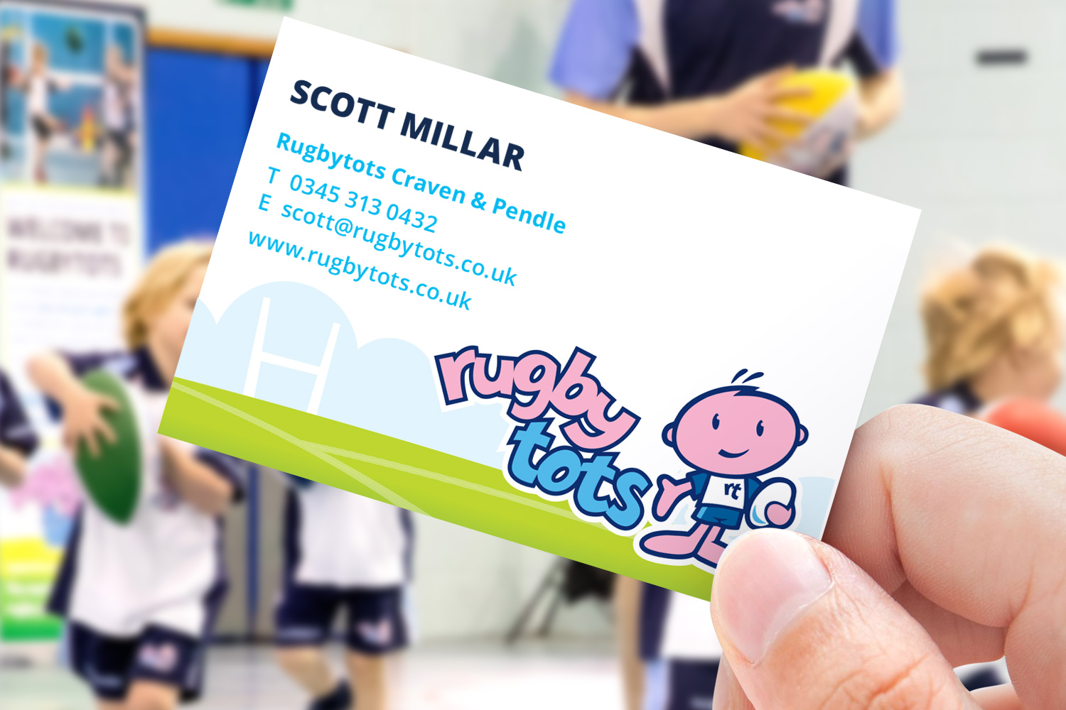 Rugbytots business card