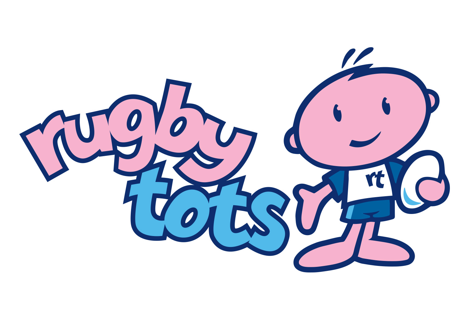 New Rugbytots logo