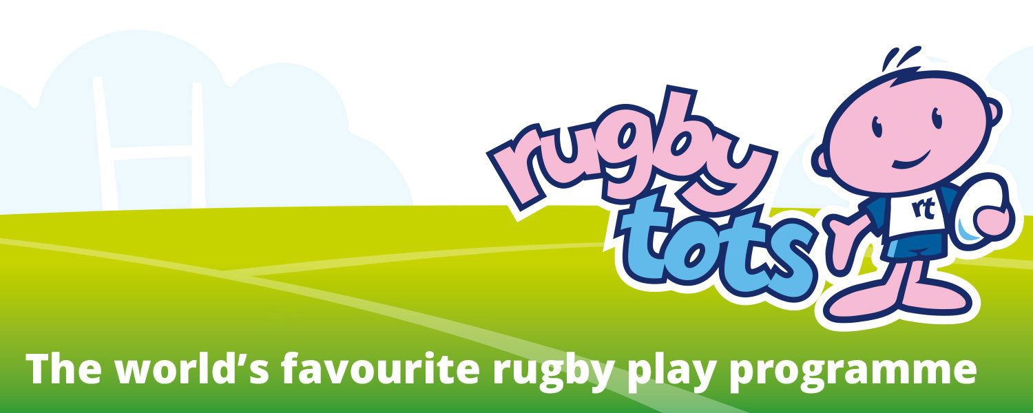 New Rugbytots logo and positioning line