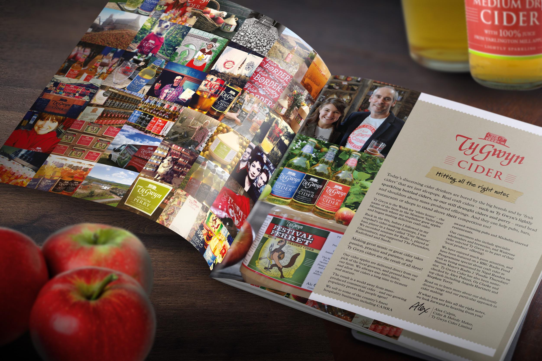 Ty Gwyn Cider trade brochure
