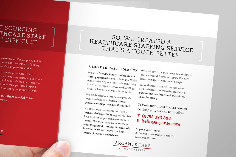 Argante Care brochure