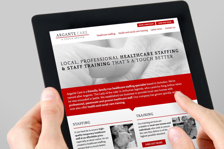 Argante Care website