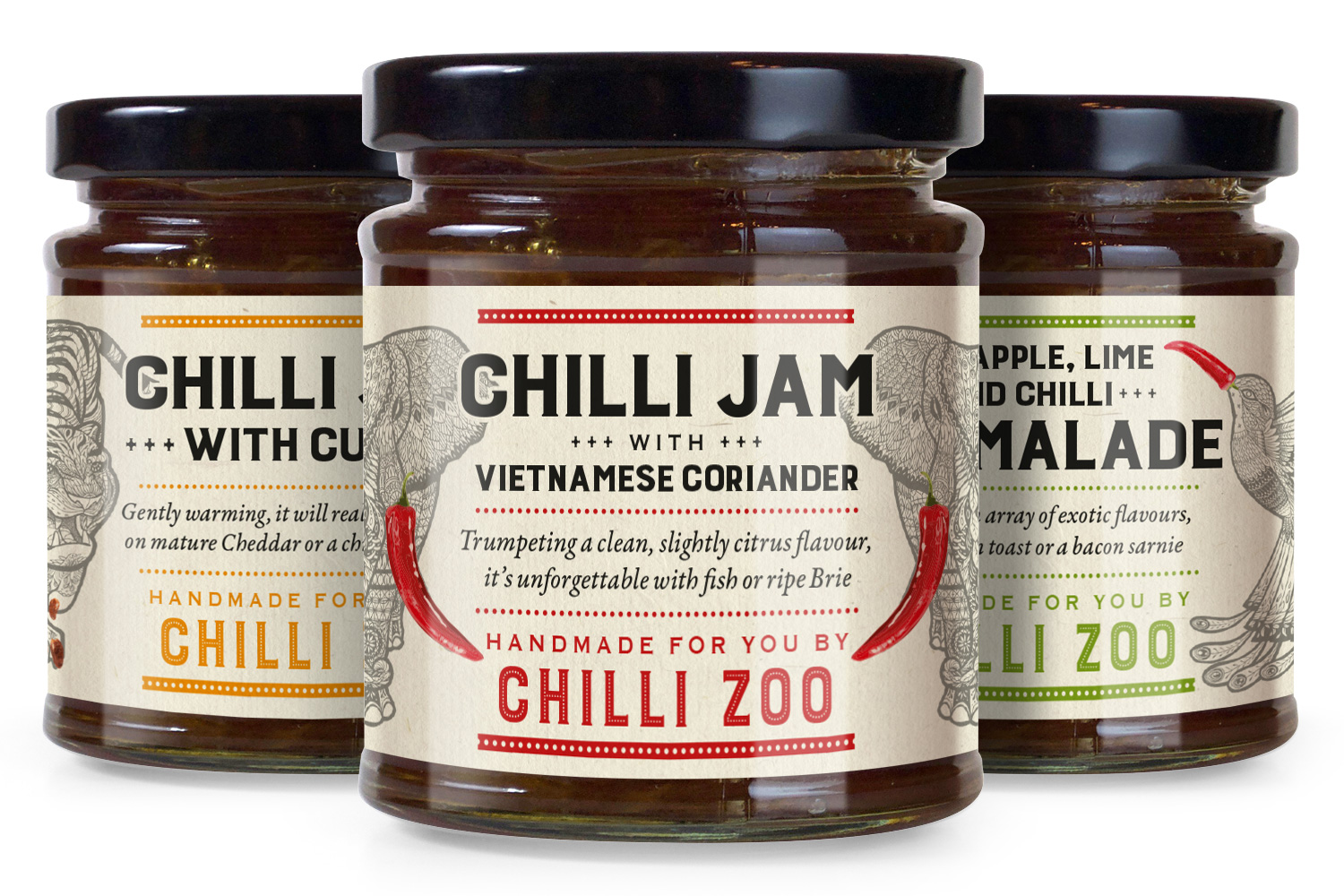 Chilli Zoo jars