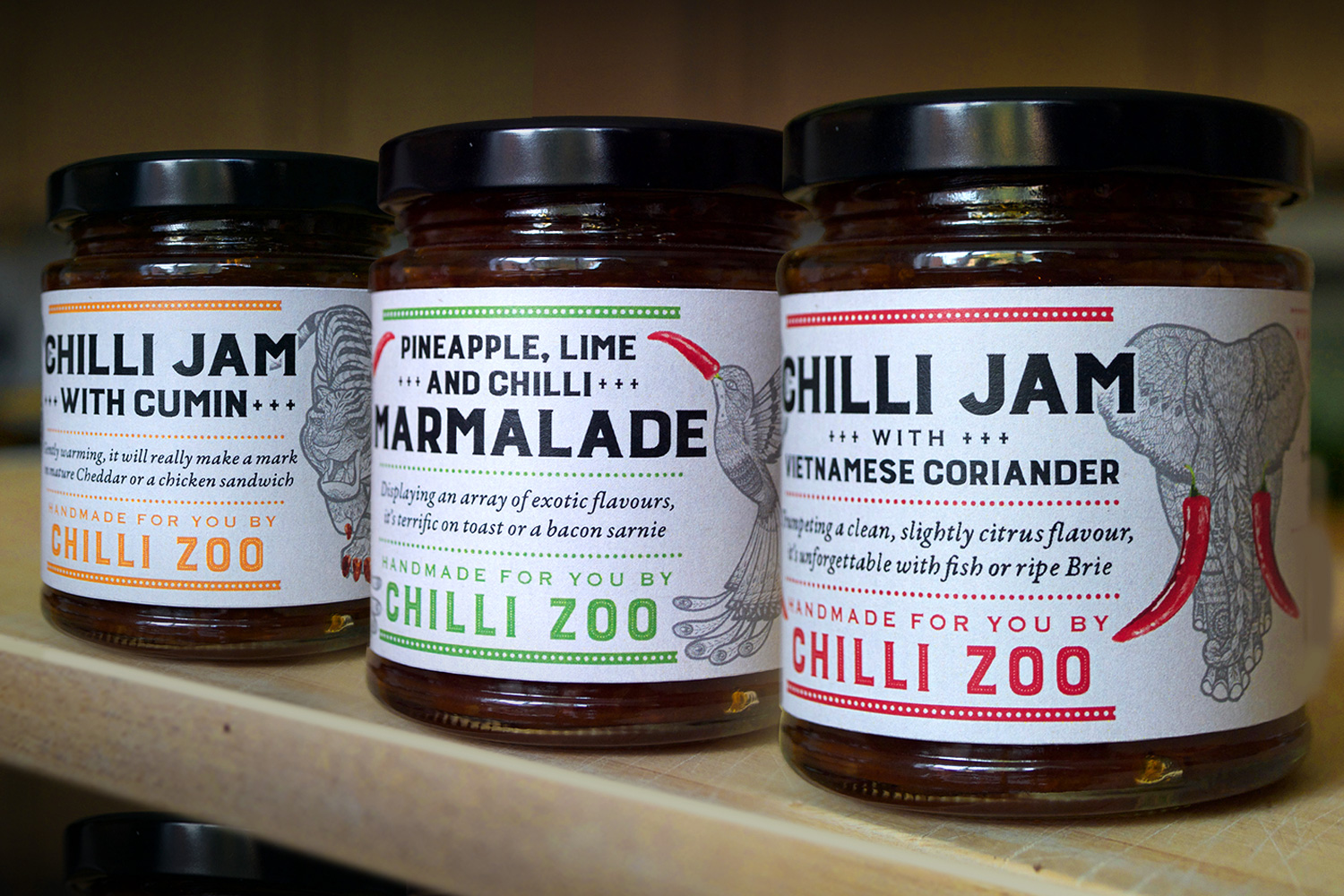 New Chilli Zoo packaging