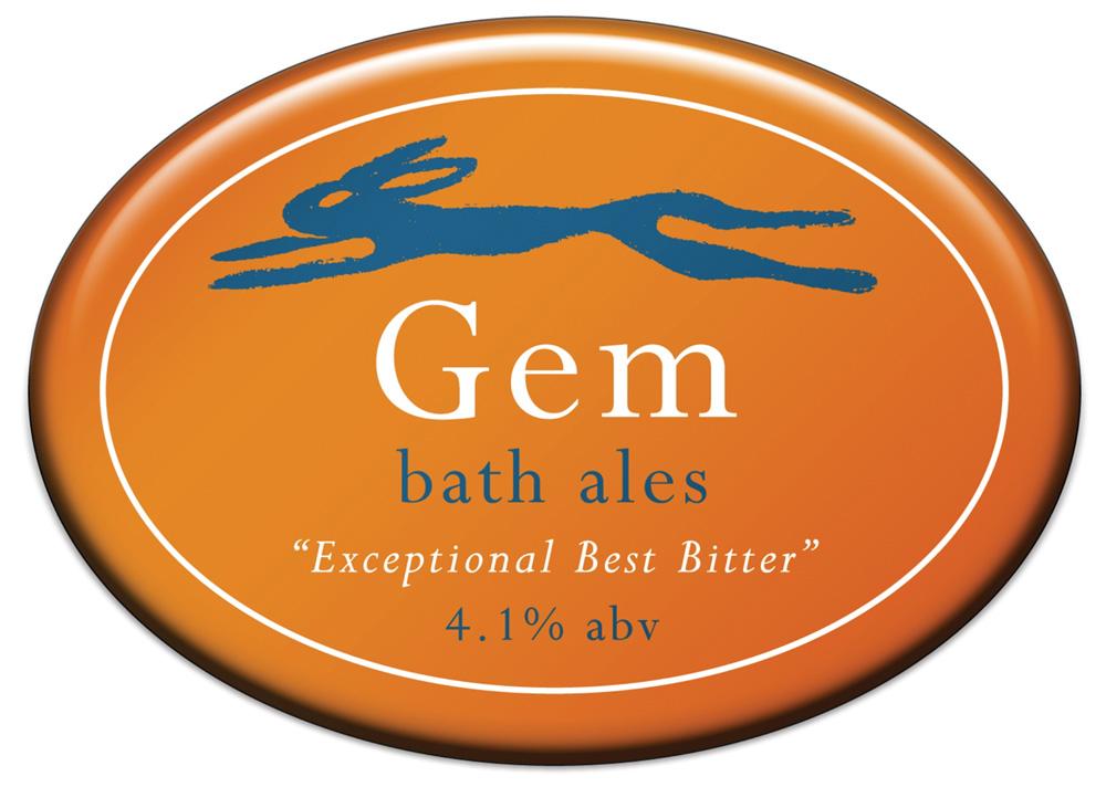 Bath Ales' original Gem pump clip