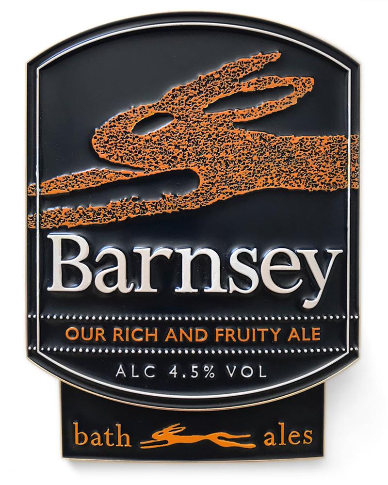 Bath Ales Barnsey pump clip