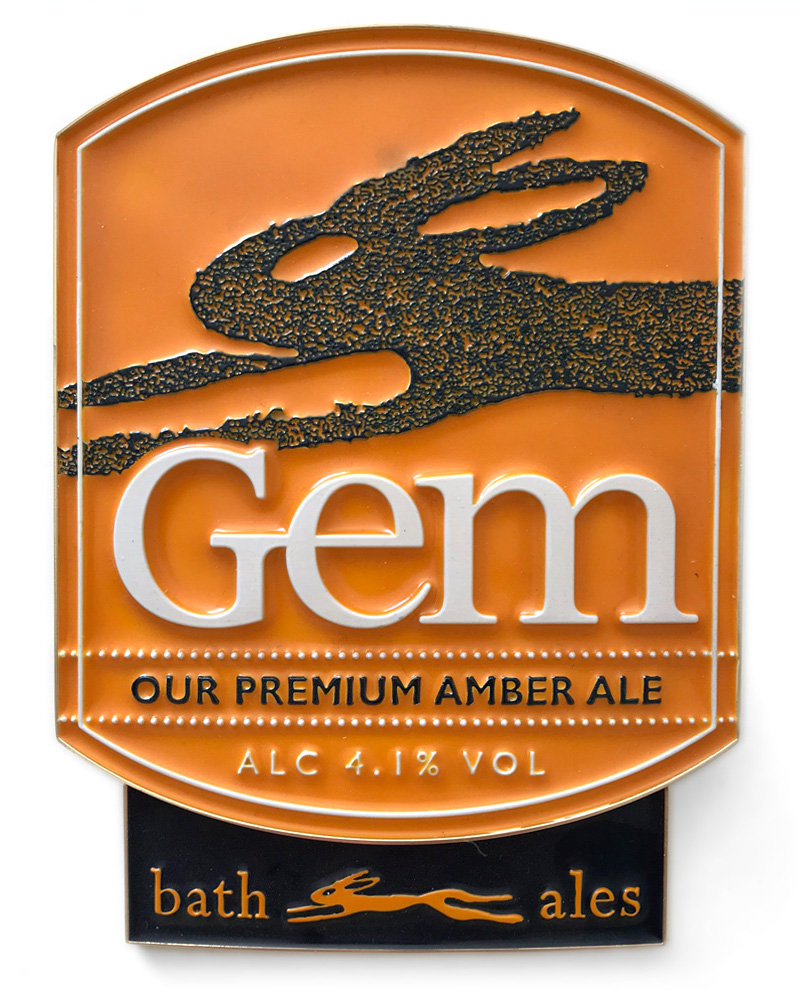Bath Ales Gem pump clip
