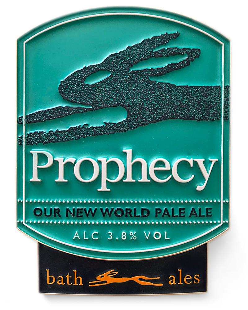 Bath Ales Prophecy pump clip