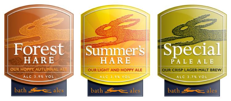 Bath Ales pump clips