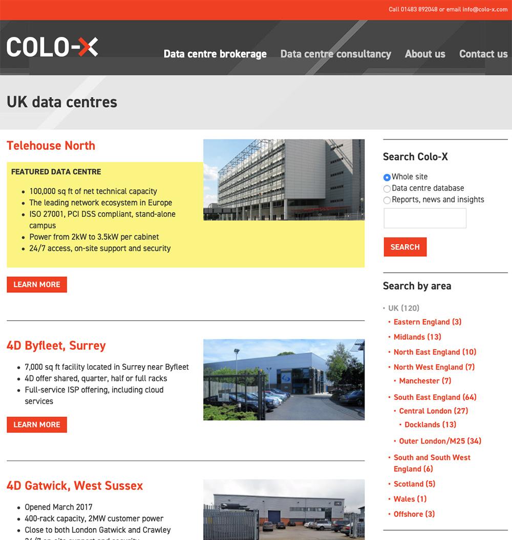 Colo-X website