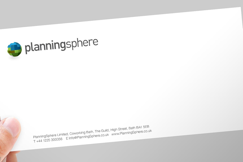 PlanningSphere compliments slip