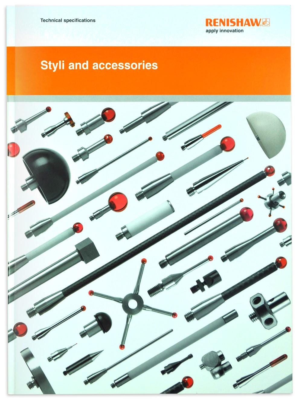 New Renishaw styli catalogue