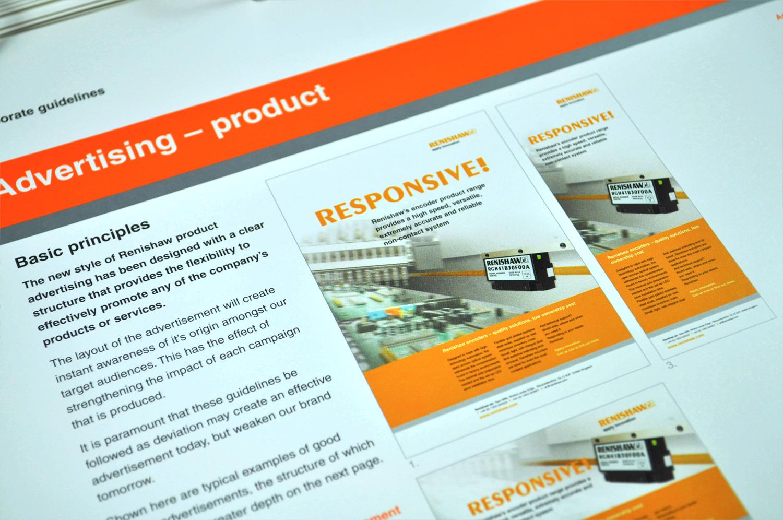 Renishaw corporate guidelines