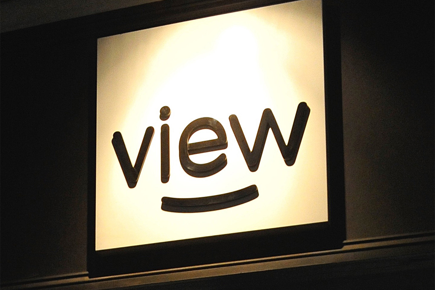 View Art Gallery signage