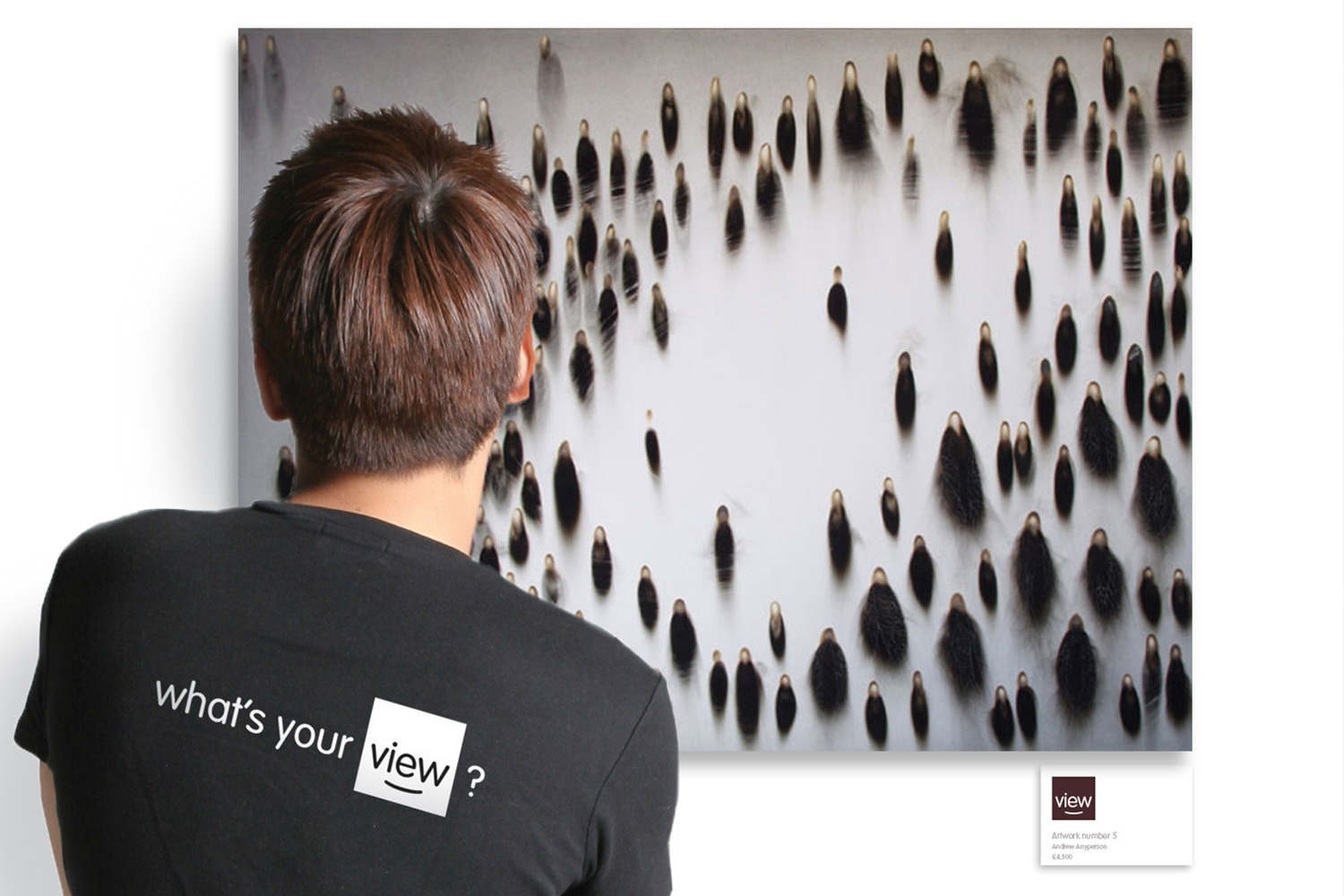 View Art Gallery brand positioning