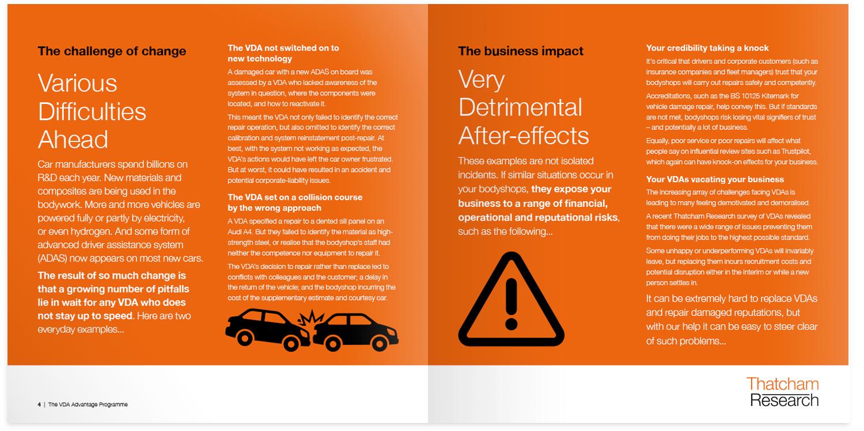 Thatcham VDA Advantage Programme brochure