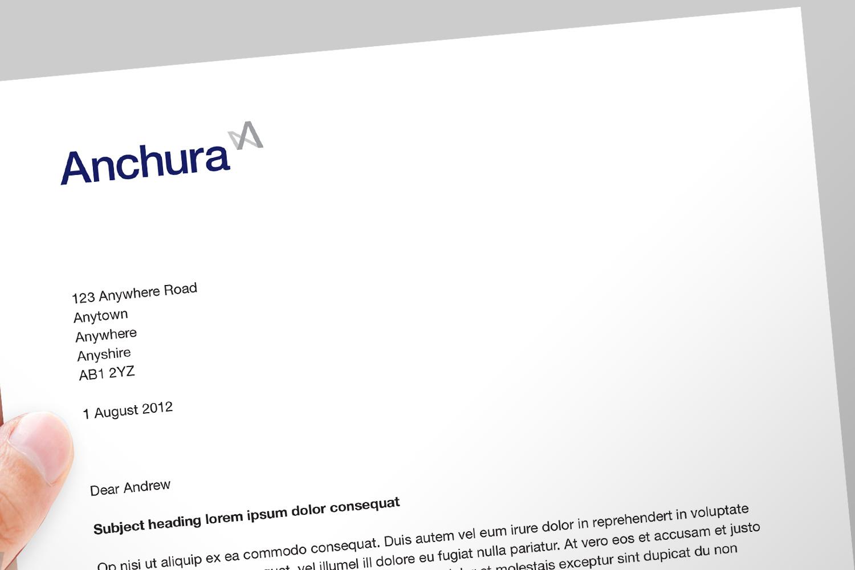 Anchura letterhead