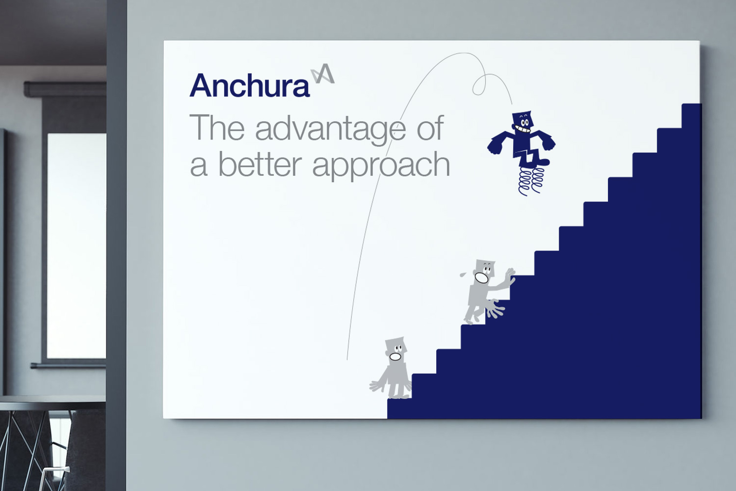Anchura Partners office graphics