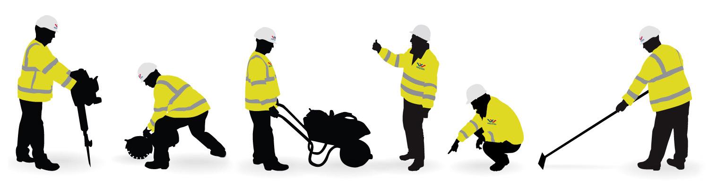 Walton worker illustrations