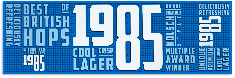 1985 bar runner