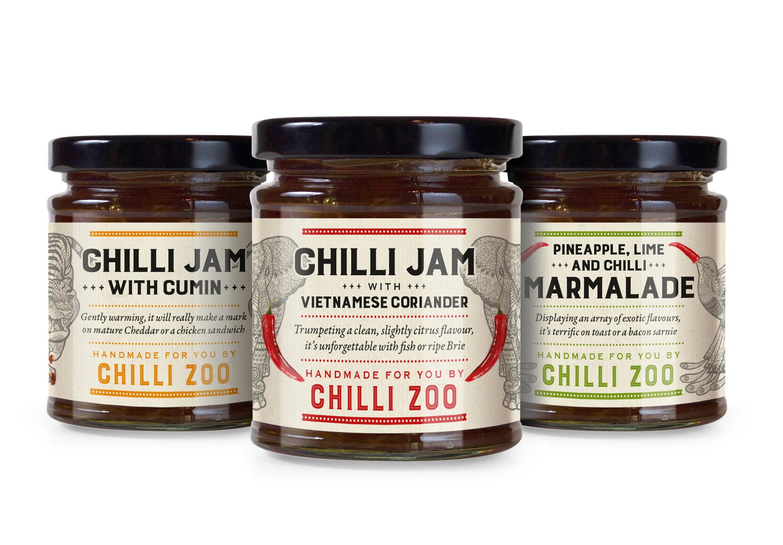 Chilli Zoo jars
